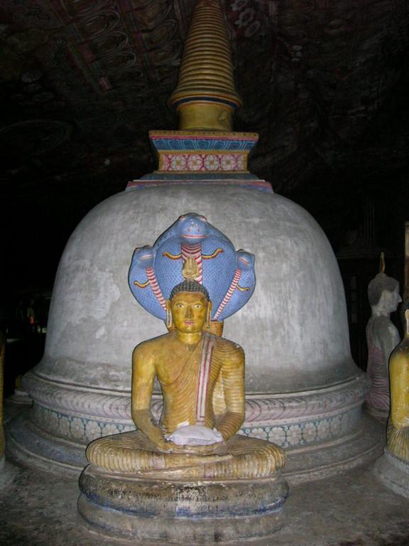 Buddha bei der Erleuchtung