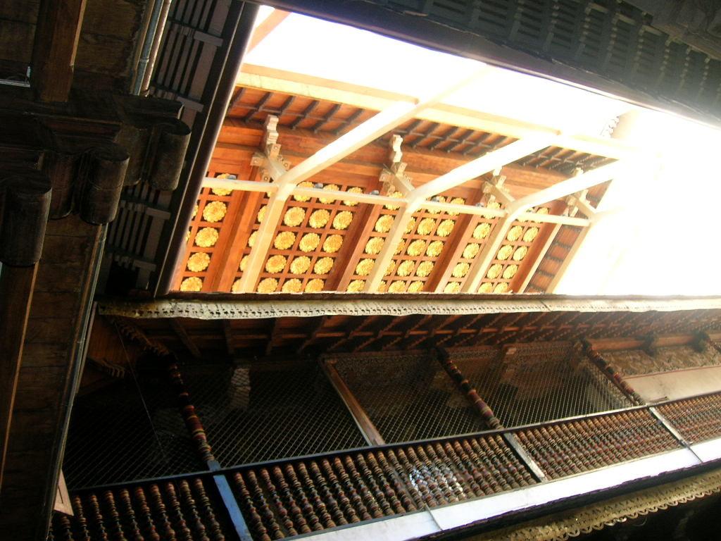 Dach des Zahntempel in Kandy