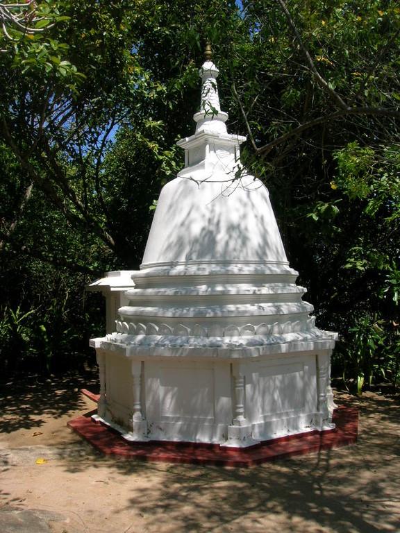 kleiner Insel Tempel
