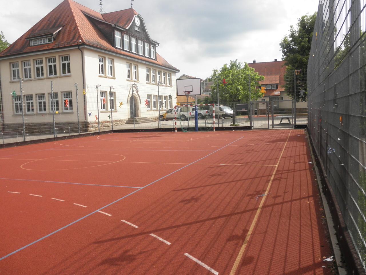 """Das Kleinspielfeld der """"Käfig"""""""