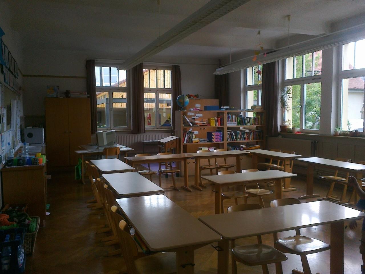 Klassenzimmer im Altbau