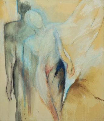 o. T.  Acryl auf Lw 140 x 120 cm