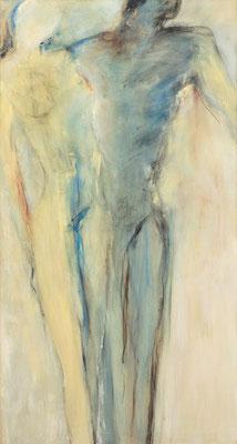 o. T.  Acryl auf Lw 140 x 75 cm