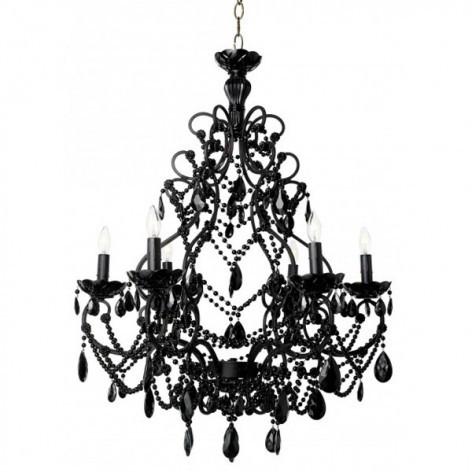Florentine Black chandelier