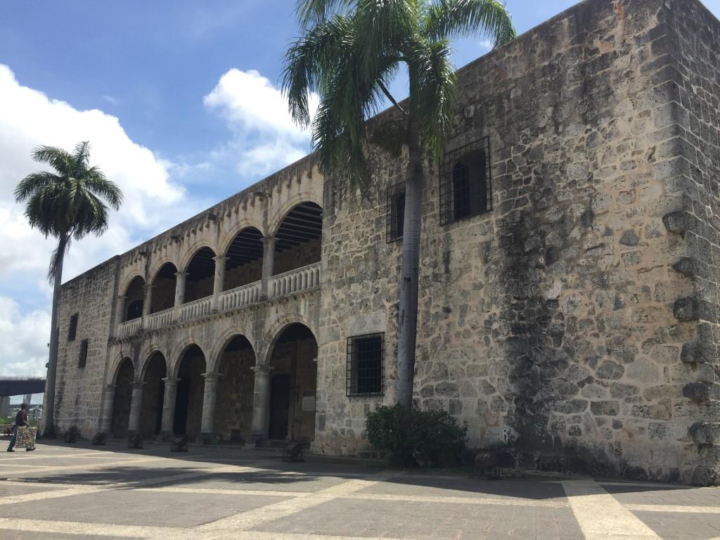 Alcázar de Colón, Plaza España, Dom Rep, Dominikanische Republik, Santo Domingo, Zona Colonial, Altstadt, Zentrum,
