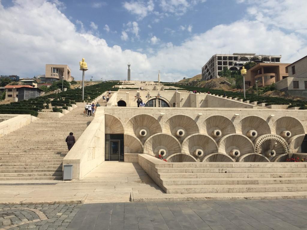 Armenien, Eriwan, Jerwan, Yerewan, Cascade, Ararat