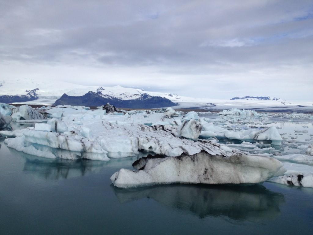 Eisberge in der Gletscher Lagune