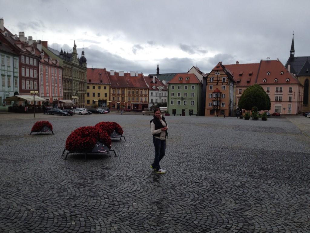 Tschechien, Eger, Cheb, Marktplatz
