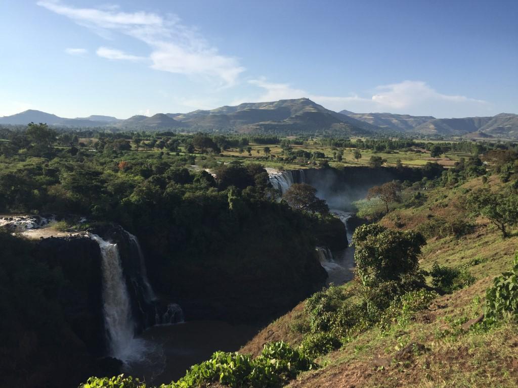 Die Tisissat Wasserfälle sind die zweitgrößten Afrikas