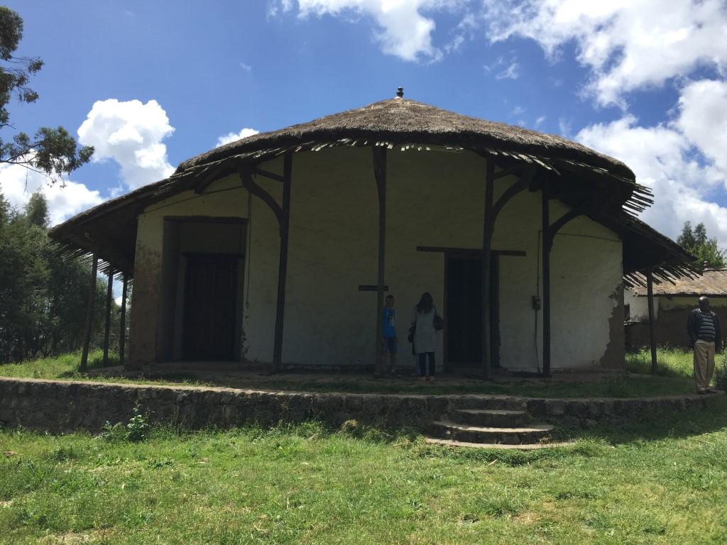 Entoto, Addis Abeba, Palast
