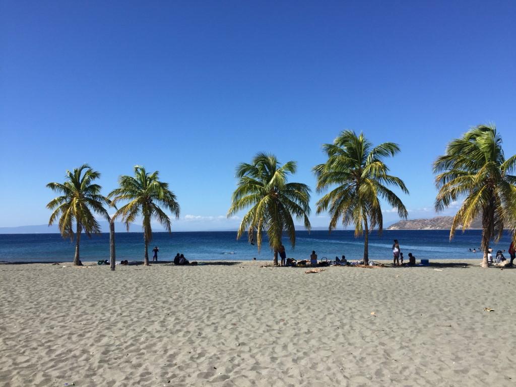 Dom Rep, Dominikanische Republik, Bani, Strand, Salinas