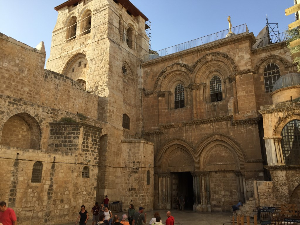 Church of the Holy Sepulchre, Grabeskirche, Altstadt, Jerusalem, Leiter
