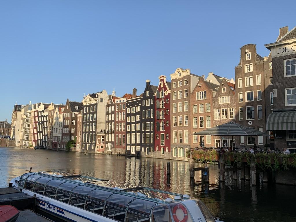 Niederlande, Holland, Amsterdam, Zentrum, Grachten, Amstel