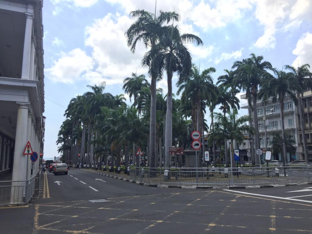 Zentrum von Port Luis
