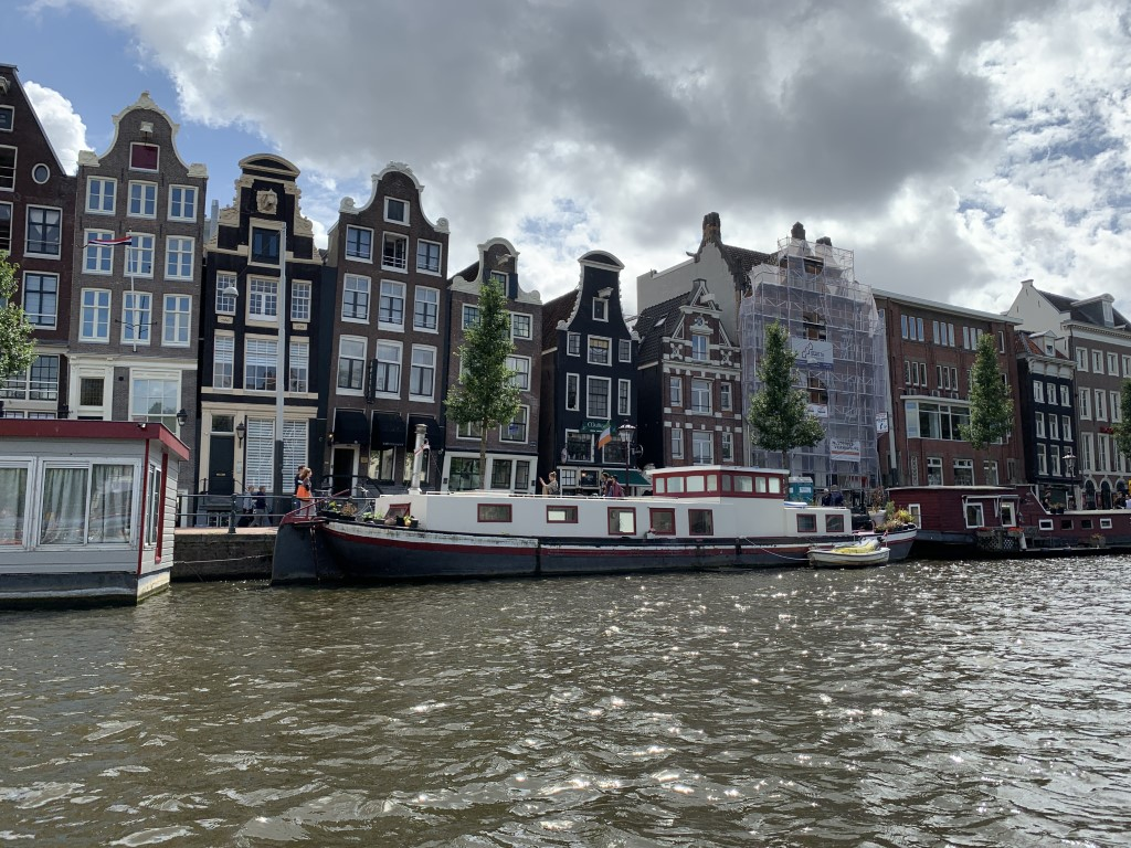 Niederlande, Holland, Amsterdam, Zentrum, Grachten, Amstel, Herengracht, Hausboot