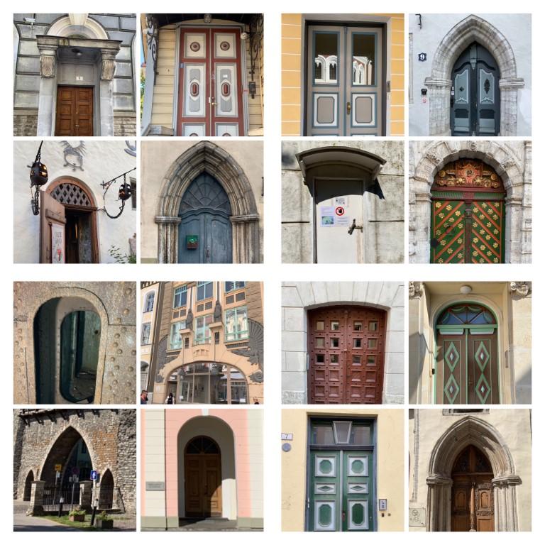 Tallinn, Estland, Altstadt, Tür, Türen, Haustüren