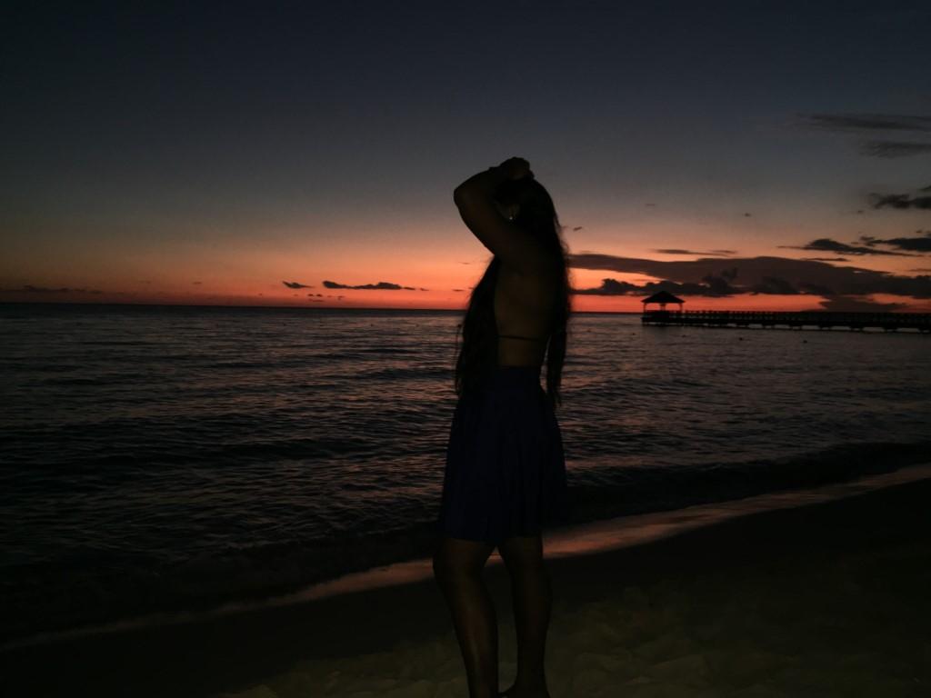 Bayahibe, Strand, Abendsonne, Sonnenuntergang, RD, DR, Dom Rep, Dominikanische Republik, Schnorcheln, Korallen
