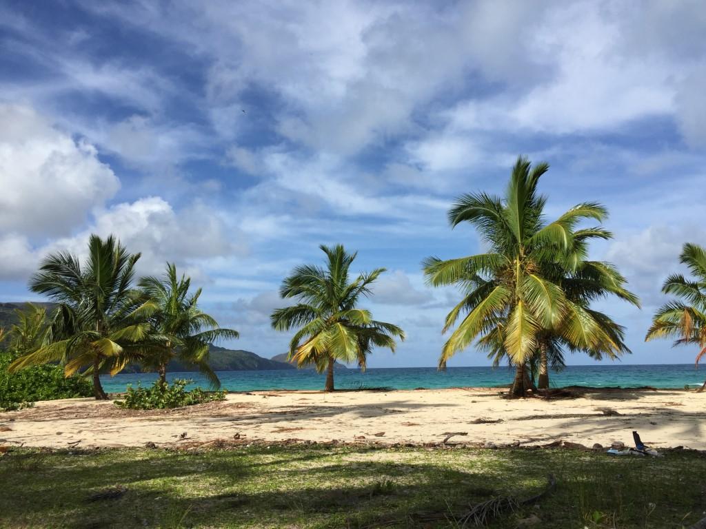 Dom Rep, Dominikanische Republik, Las Galeras, Playa Rincon