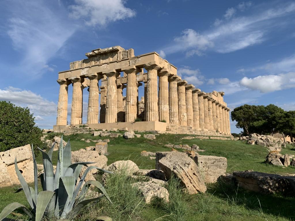 Italien, Sizilien, Sehenswürdigkeit, Selinunt, Selinunte, Tempel E