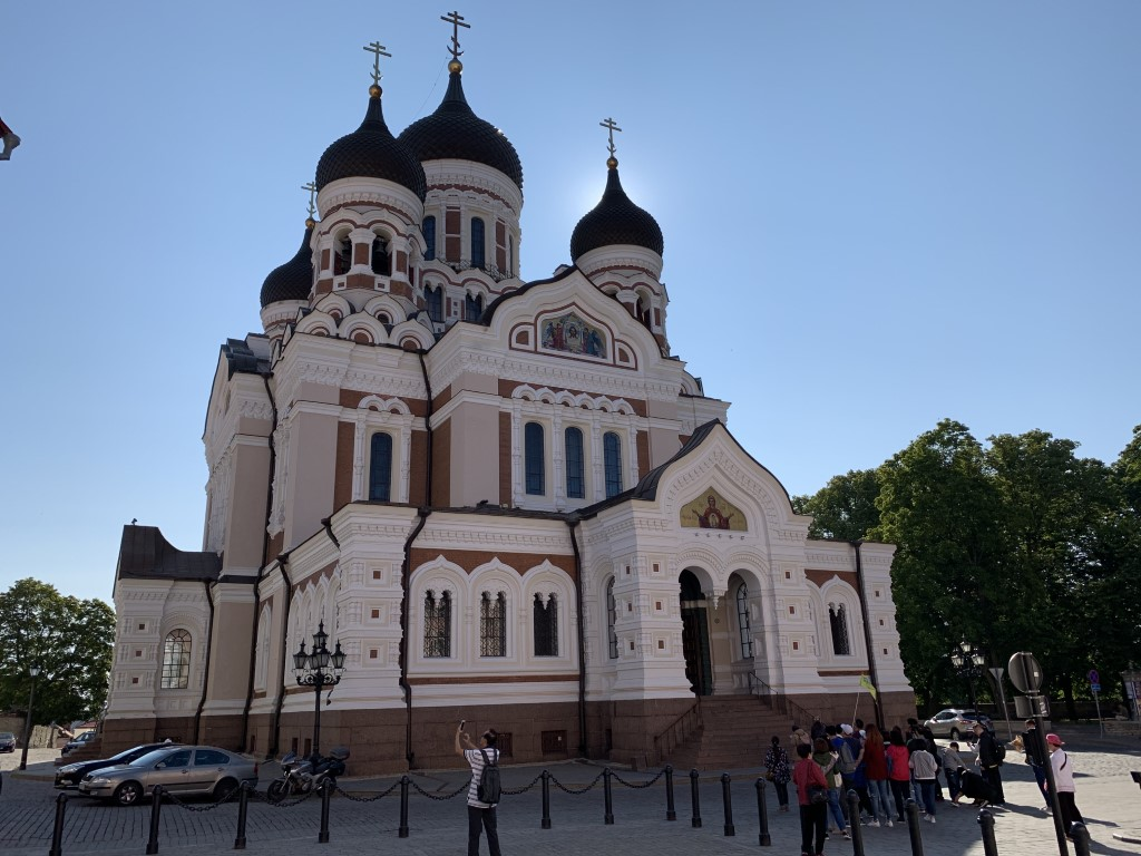 Estland, Tallinn, Reval, Altstadt, Denkmal, Basilika, Alexander-Newski-Kathedrale
