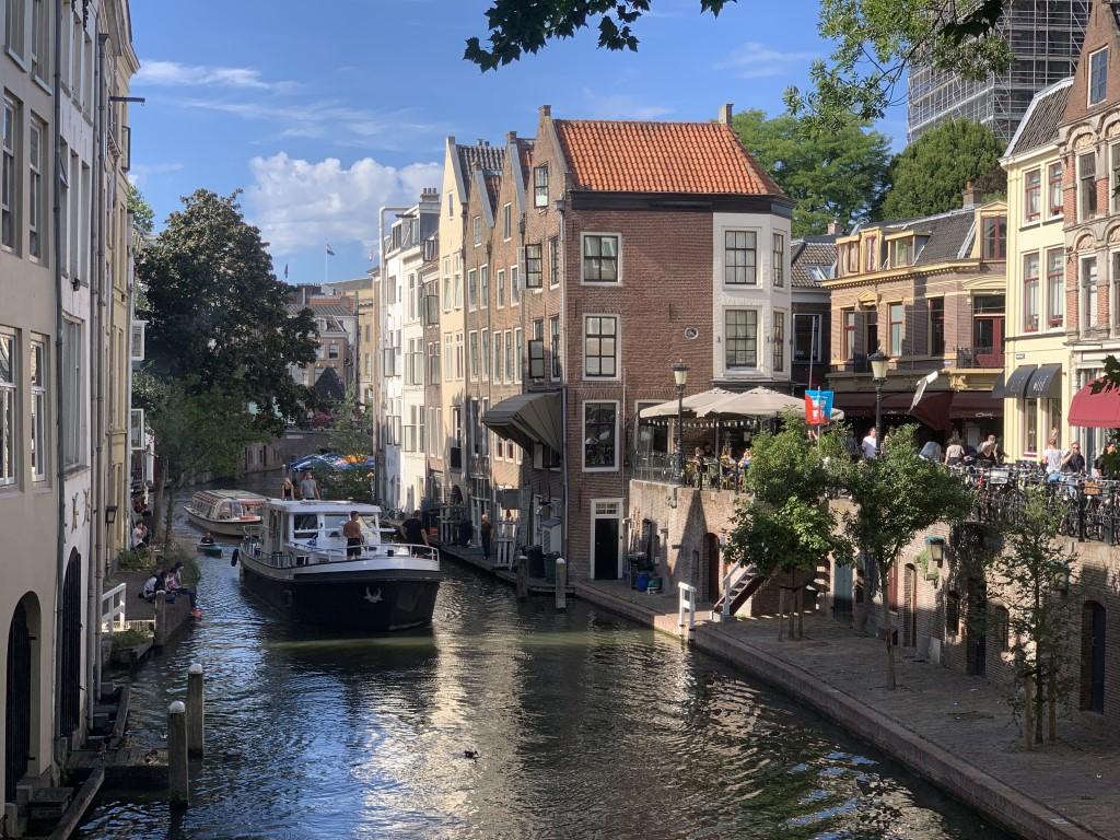 Niederlande, Holland, Utrecht, Gracht, Zentrum, Altstadt, Sehenswürdigkeit