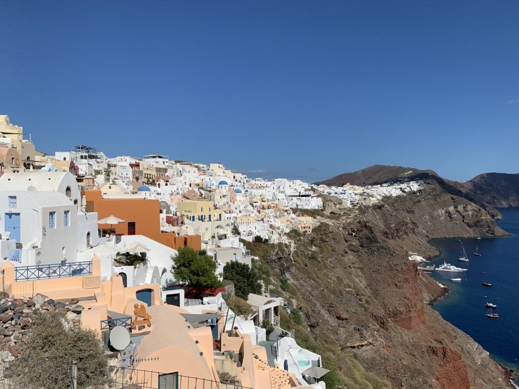 Santorini, Griechenland, Steilküste, Fira, Oia , Caldera
