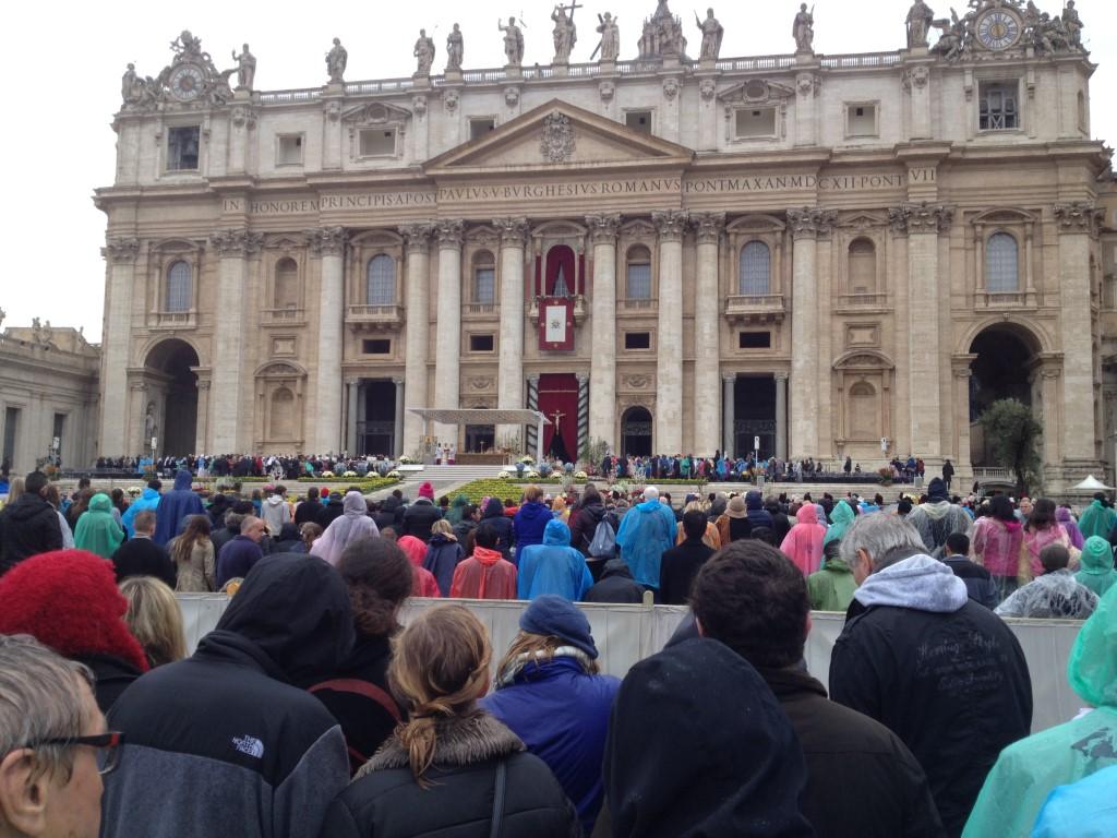 Italien, Rom Vatikan, Vatikanstadt, Petersplatz, Petersdom, Papst, Ostermesse
