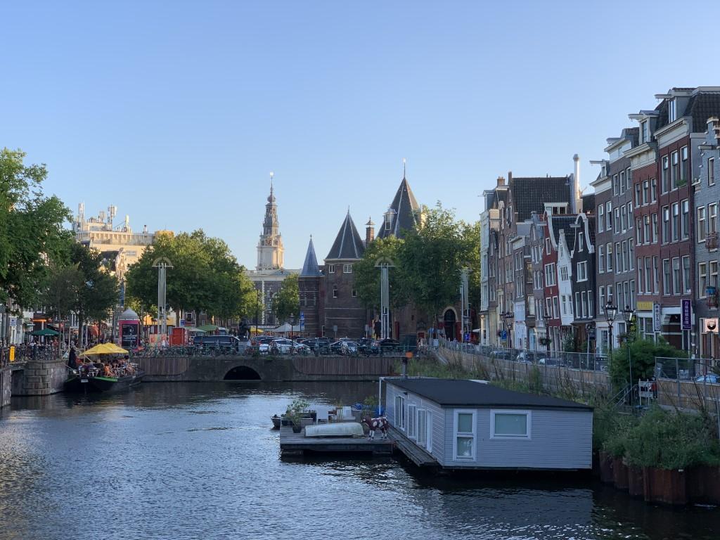 Niederlande, Holland, Amsterdam, Zentrum, grachten, waag, geldersekade,