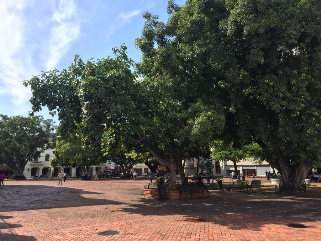 Dom Rep, Dominikanische Republik, Santo Domingo, Zona Colonial, Altstadt, Zentrum, Plaza Colón