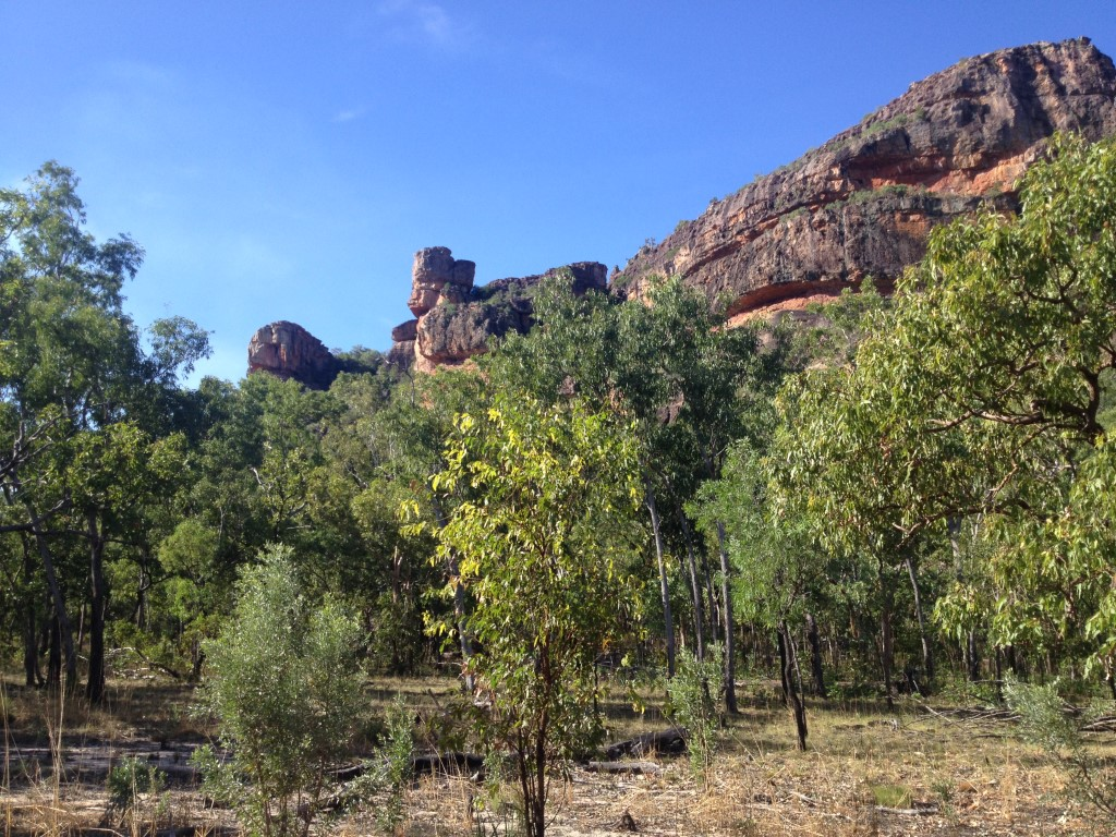 Australien, Northern Territory, Kakadu National Park, Nourlangie, Anbangbang, Aborigines