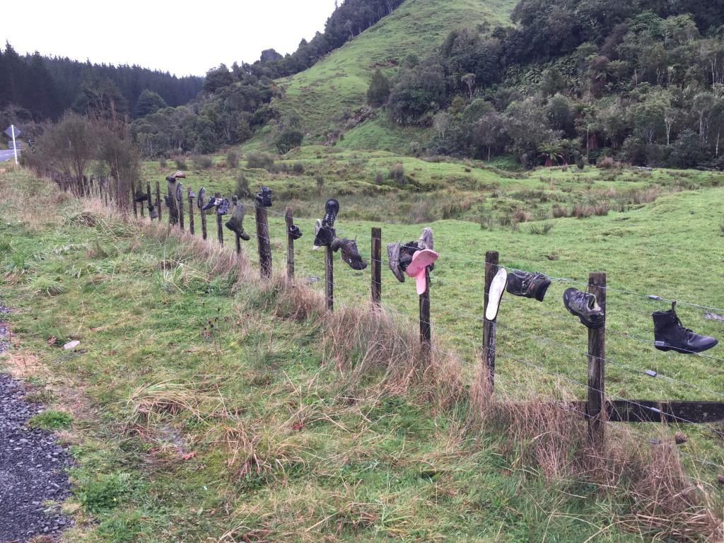 Shoe Fence