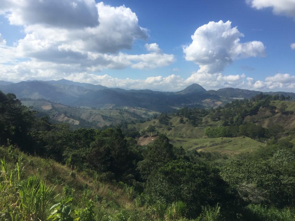Dom Rep, Dominikanische Republik, Berge, Gebirge, Jarabacoa