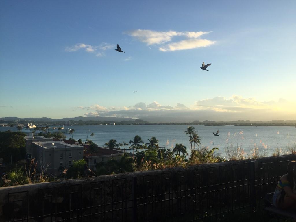 Puerto Rico, San Juan, Altstadt, Hafen, Aussicht,