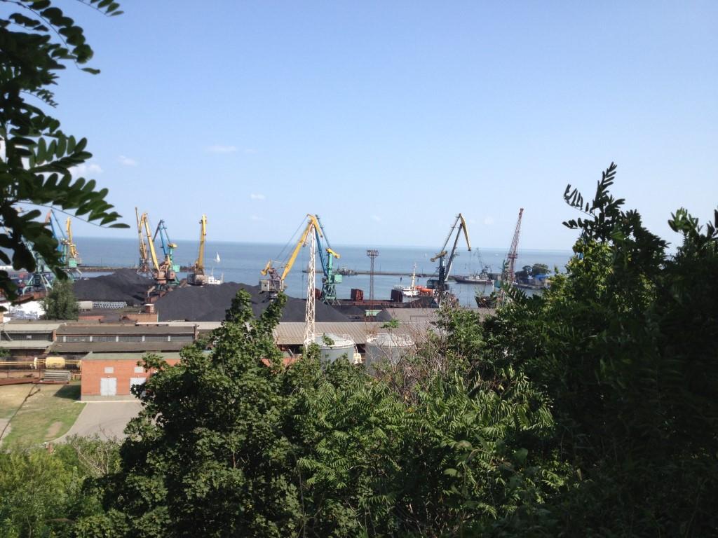 Russland, Taganrog, Hafen