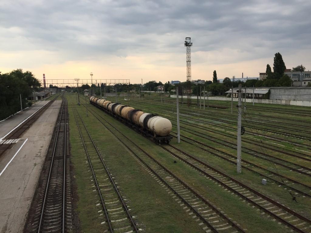 Transnistrien, Tiraspol, Bahnhof