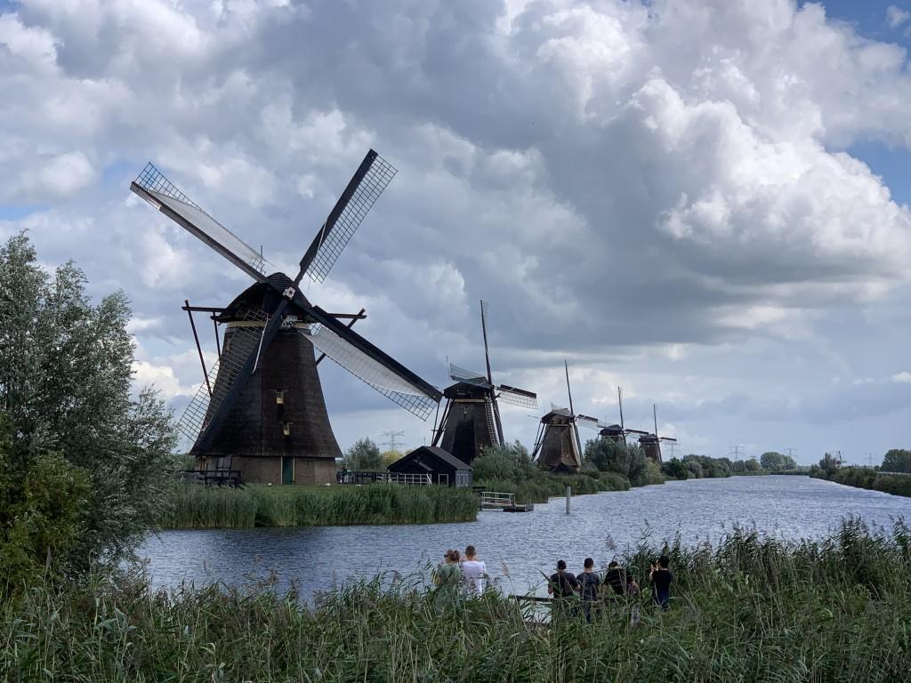 Niederlande, Holland, Amsterdam, Strand, Kinderdijk, Windmühle, Polder, Unsesco, Weltkulturerbe