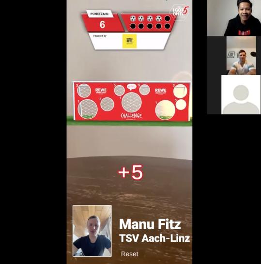 Manu Fitz (TSV Aach-Linz) vs. Patric Scherer (TSV Aach-Linz)#Igot5onitchallengeeSport.