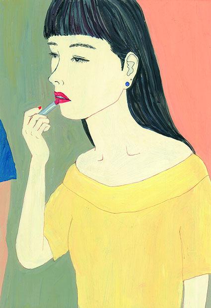 【ダメ女1】  最悪だ。きのう彼氏に別れ話をされた。他に好きな人が いるんだって。よりにもよって、私が一番好きな「純喫茶るあん」の パフェを食べたあとに。そんな無神経な男だとは思わなかった。 もういい。私は別の男のために、口紅を引きなおした。