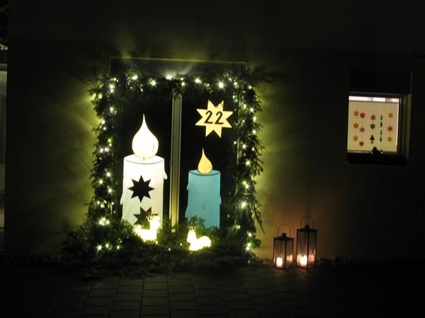 Adventsfenster Ideen.Adventsfenster Frauengemeinschaft Siebnen