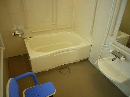 介護、浴室