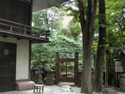 小野照崎神社、富士塚