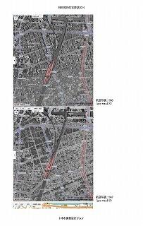 神田界隈地図、航空写真(1963、1947)