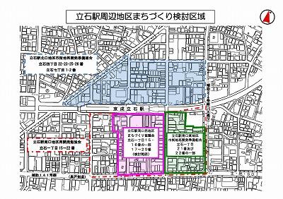 京成立石駅前再開発