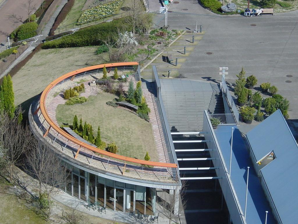 花フェスタ記念公園(屋上モデルガーデン 1998年)