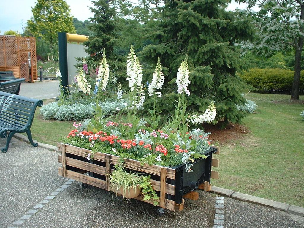 花フェスタ記念公園(自立花壇 2006年)