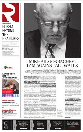 Russia Beyond the Headlines RBTH - English newspapers in Moscow