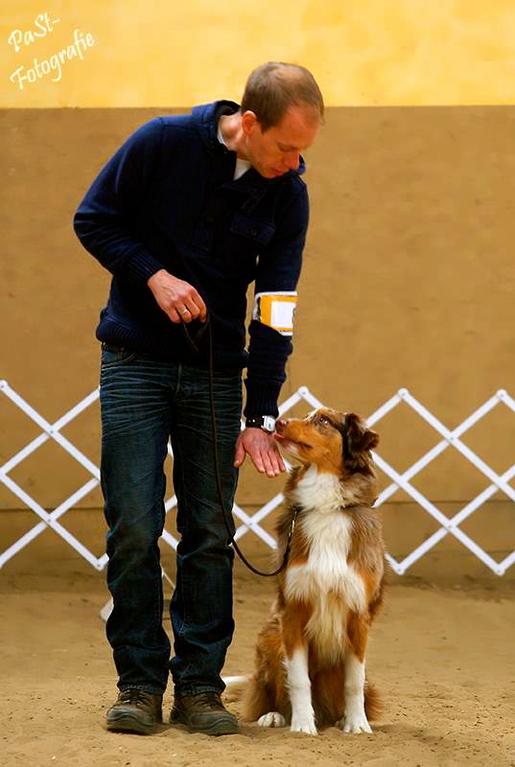 beim 1. ASCA-Rally-Obedience-Start in Rheinbach am 14.04.2012