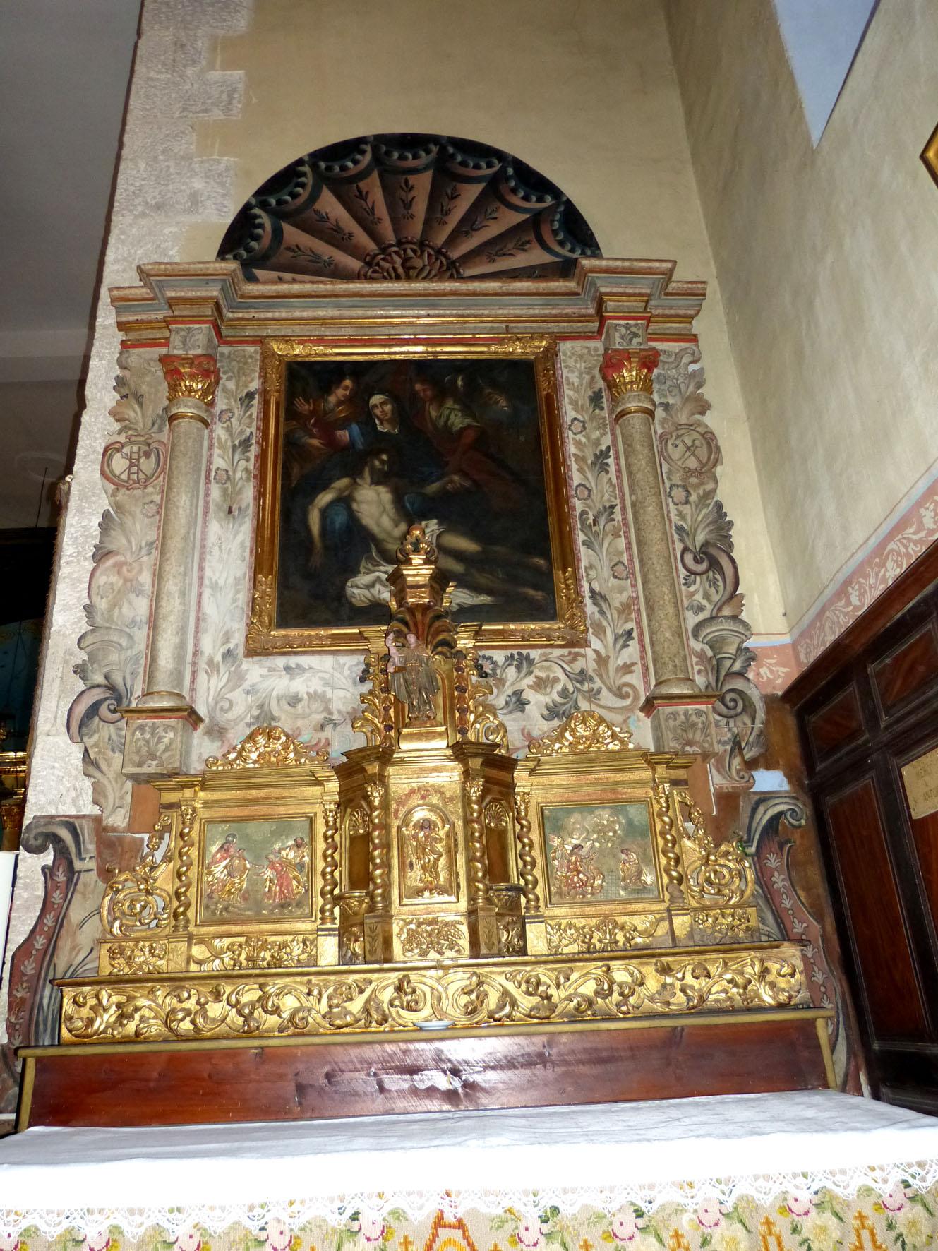 Retable avec la Pietà  (Pezet)