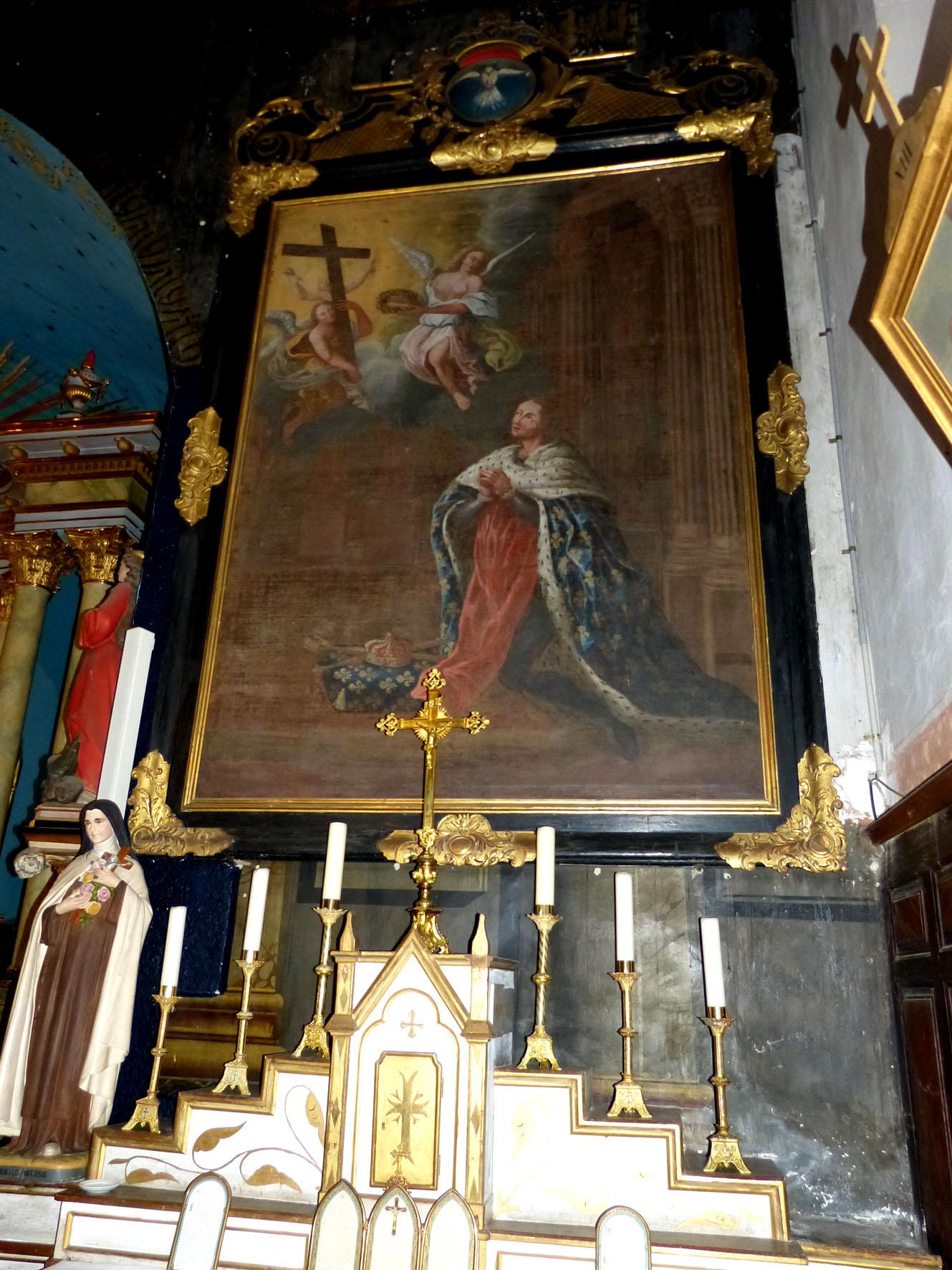 """Tableau """"Saint-Louis""""  - Rieudemont"""