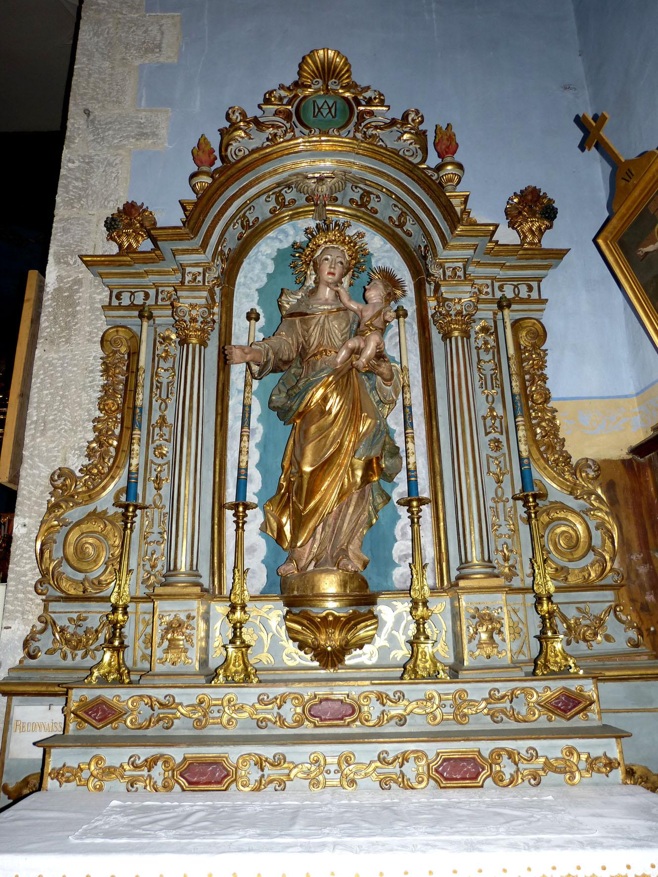 Retable du Rosaire